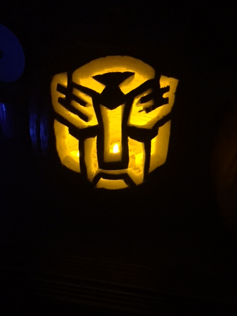 Transformers Autobot symbol that resembles a bear :)